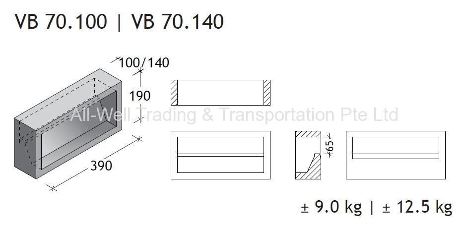 VB 70.100 I VB70.140